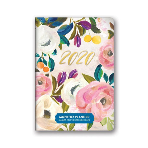 Bella Flora 2020 Monthly Pocket Engagement Calendar Front Cover