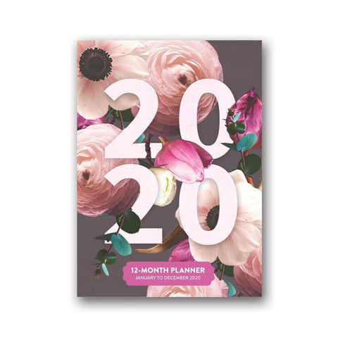 Floral Expressions Take Me With You 2020 Engagement Calendar Front Cover
