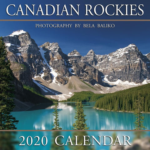 Moraine Lake Canadian Rockies 2020 Wall Calendar