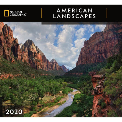 American Landscapes NG 2020 Wall Calendar Front Cover