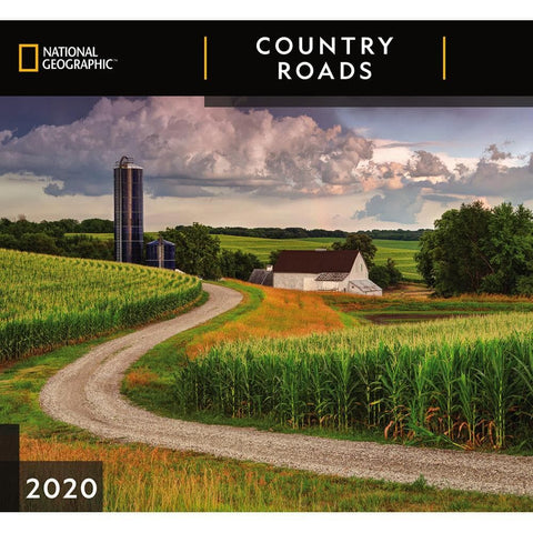 Country Roads NG 2020 Wall Calendar Front Cover