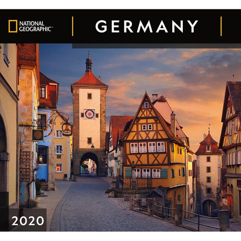 Germany NG 2020 Wall Calendar Front Cover