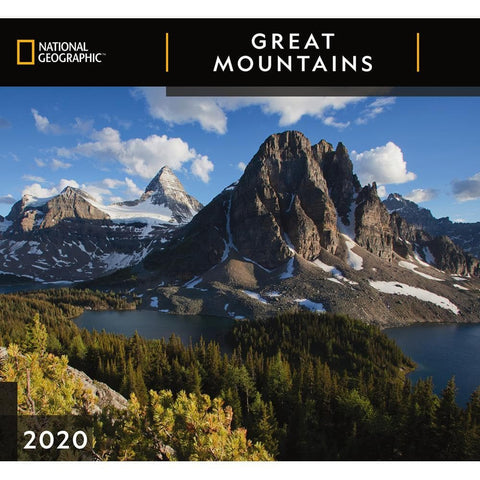 Great Mountains NG 2020 Wall Calendar Front Cover
