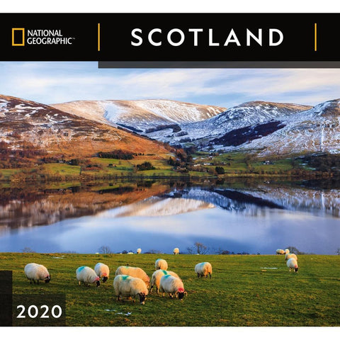 Scotland NG 2020 Wall Calendar Front Cover
