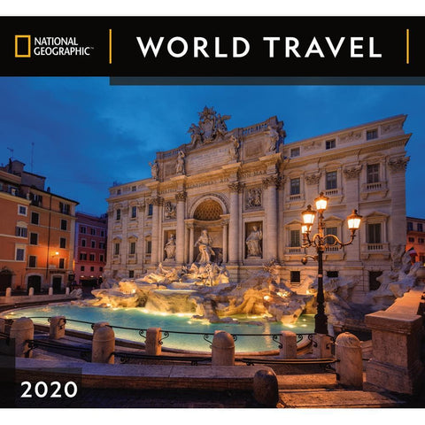 World Travel NG 2020 Wall Calendar Front Cover