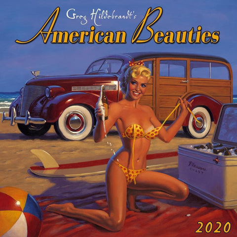American Beauties 2020 Wall Calendar Front Cover