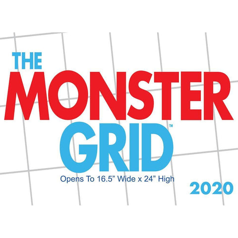 Monster Grid 2020 Wall Calendar Front Cover