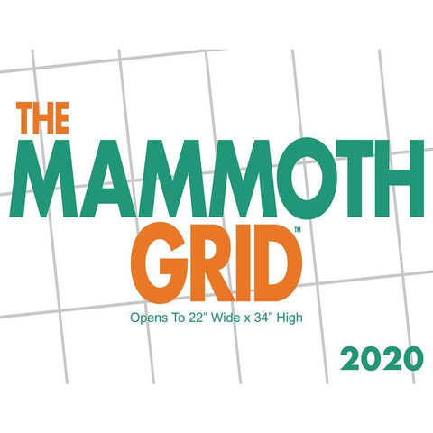 Mammoth Grid Wall Front Cover