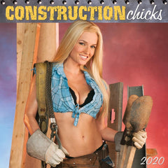 Construction Chicks 2020 Wall Calendar Front Cover