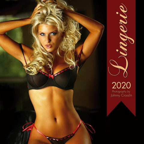Lingerie 2020 Wall Calendar Front Cover