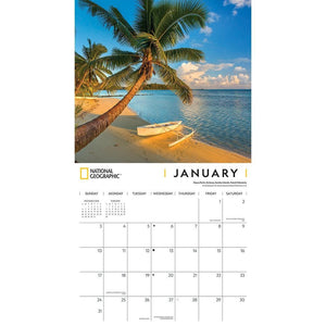 Islands NG 2021 Wall Calendar Interior Image