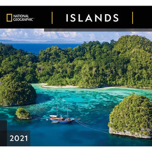 Islands NG 2021 Wall Calendar Front Cover Image