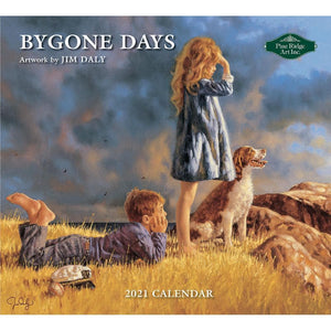 Bygone Days 2021 Wall Calendar Front Cover Image