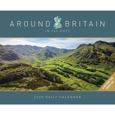 Around Britian in 365 Days 2020 Box Calendar Front Cover