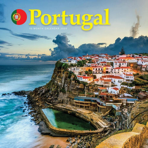 Portugal 2020 Wall CalendarFront Cover