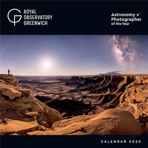 Royal Observatory Astronomy 2020 Wall Calendar - Online Exclusive