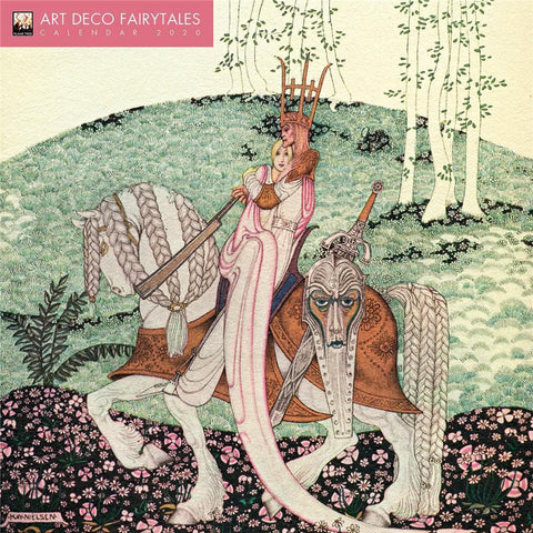 Art Deco Fairytales 2020 Wall Calendar - Online Exclusive