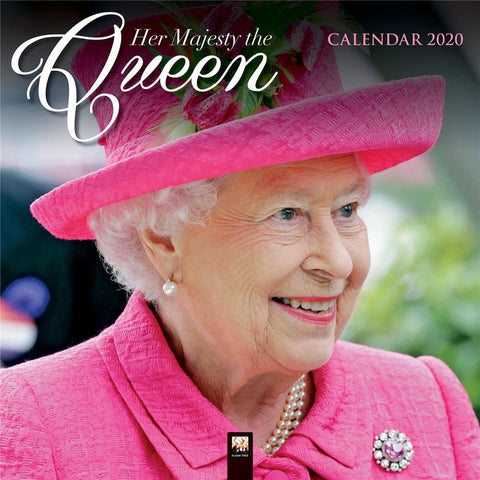 Queen and Royal Family 2020 Wall Calendar