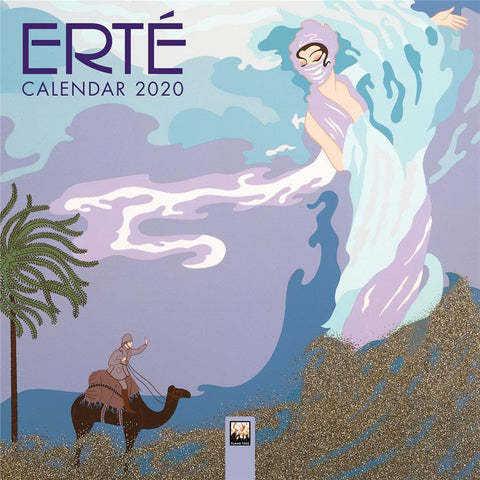 Erte 2020 Mini Calendar - Online Exclusive