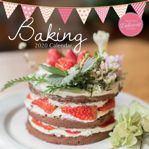 Baking 2020 Wall Calendar - Online Exclusive Front Cover