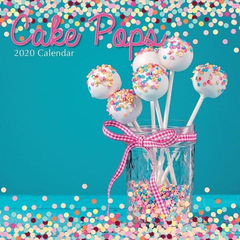 Cake Pops 2020 Wall Calendar - Online Exclusive Front Cover