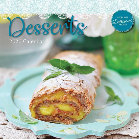 Desserts 2020 Wall Calendar - Online Exclusive Front Cover