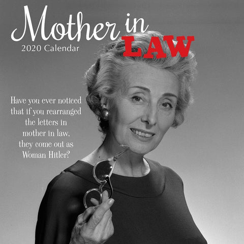 Mother in Law 2020 Wall Calendar - Online Exclusive Front Cover