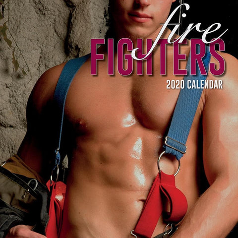Firefighters 2020 Wall Calendar Front Cover