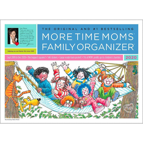 Family Organizer 2020 Oversized Wall Calendar Front Image