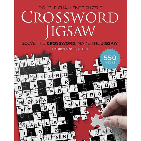 Crossword Original Puzzle and Game 550 Piece