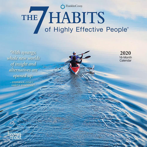 7 Habits of Highly Effective People 2020 Mini Calendar Front Cover