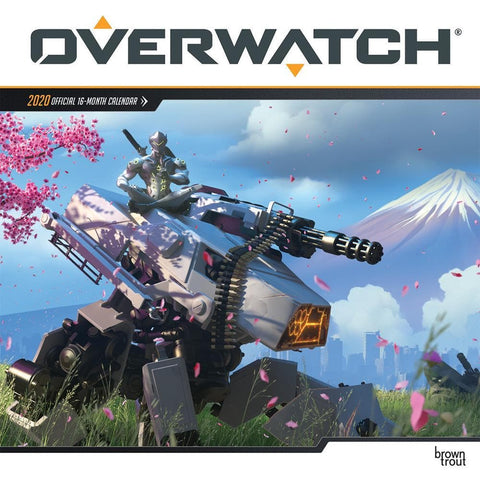 Overwatch 2020 Wall Calendar Front Cover