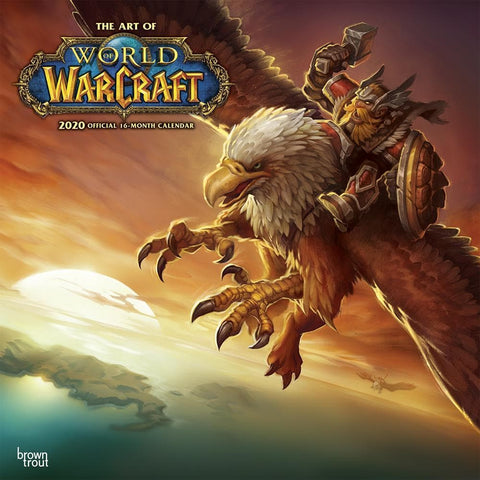 World of Warcraft 2020 Wall Calendar Front Cover