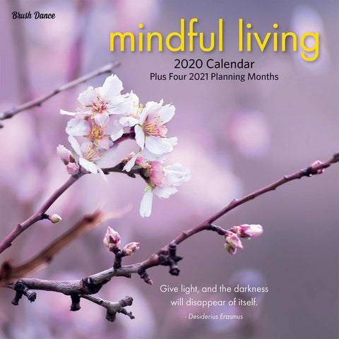 Mindful Living 2020 Mini CalendarFront Cover