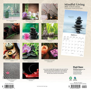 Mindful Living 2022 Wall Calendar Product Image