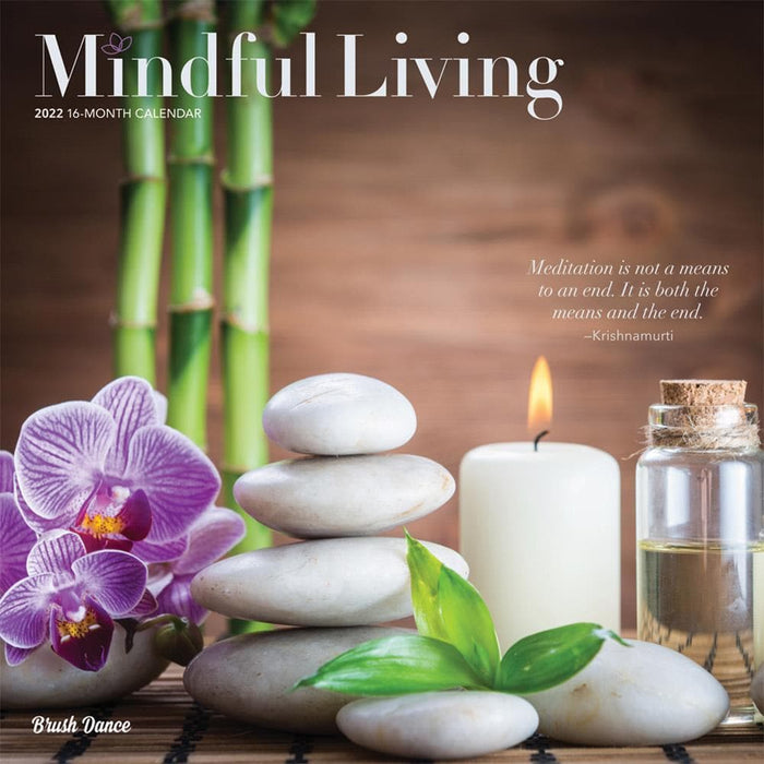 Mindful Living 2022 Wall Calendar (Pre-Order)