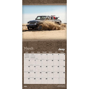 Jeep 2022 Wall Calendar Product Image
