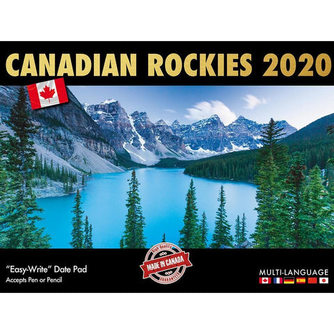 Can Rockies Multi Language 2020 Wall Calendar Front Image