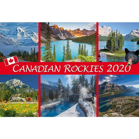 Canadian Rockies 2020 Pocket Calendar Front Image