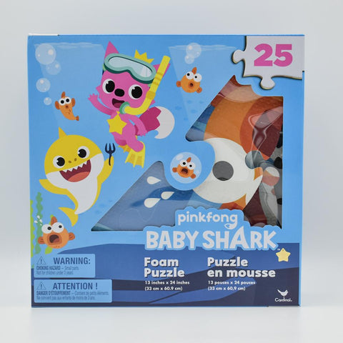 Baby Shark Foam Puzzle 25 Piece