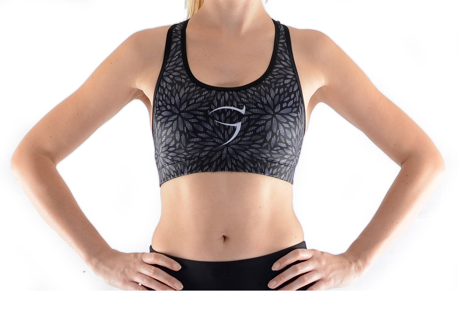 Shimmer Leaf Crop Top