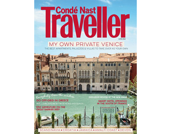Conde Nast Traveller June 2016