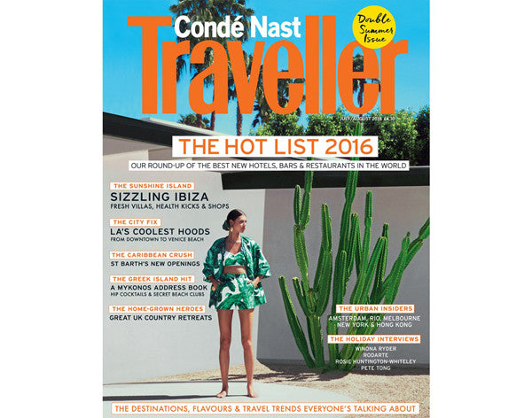 Condé Nast Traveller Hot List 2016 (UK)