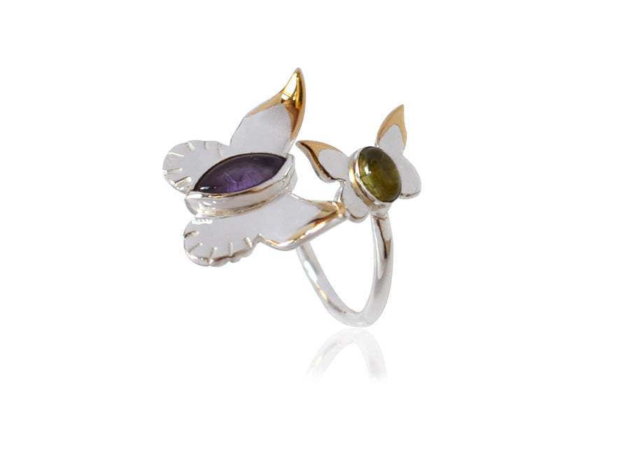 Riverlight Butterfly Ring
