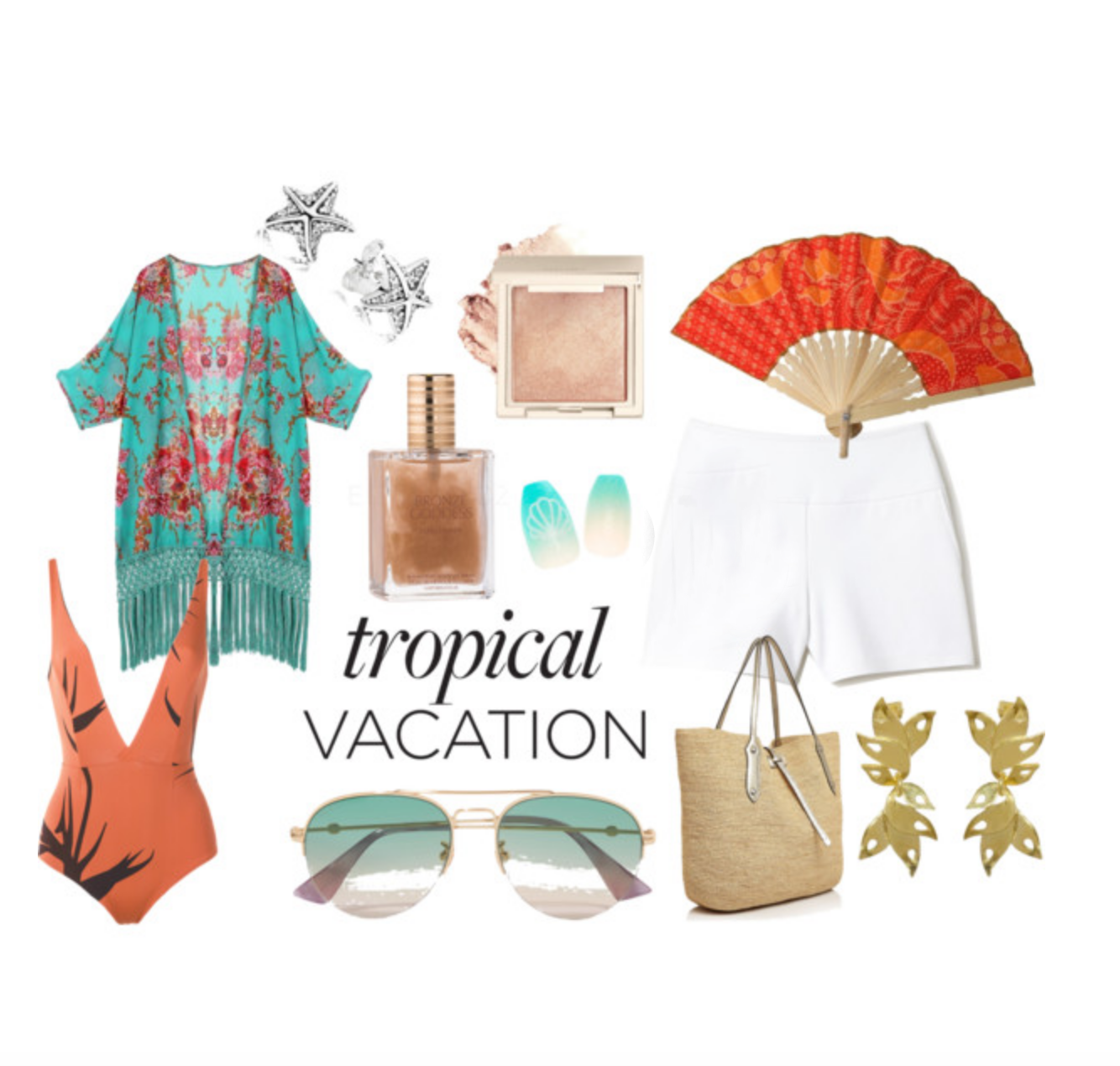 Tropical Holiday Outfit