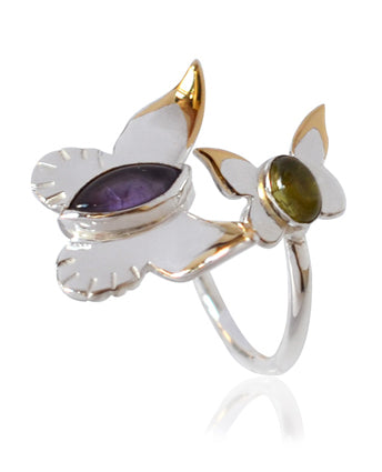 Bespoke Butterfly Ring