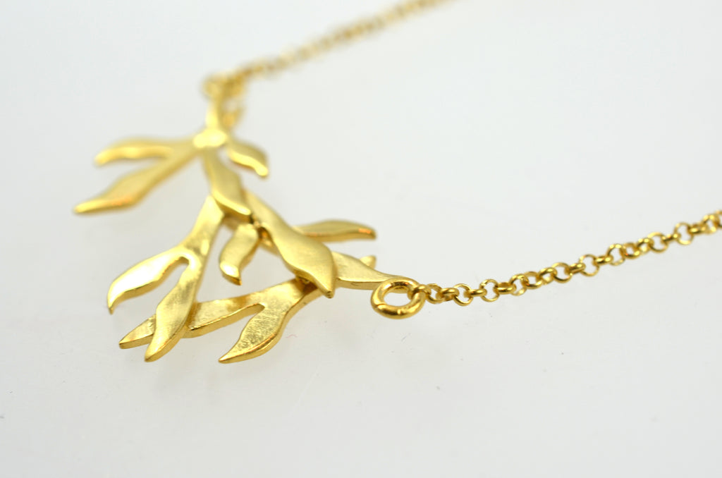 Chayya Tea Leaf Necklace
