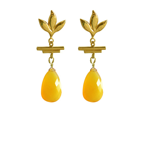 Vinales Leaf Earrings