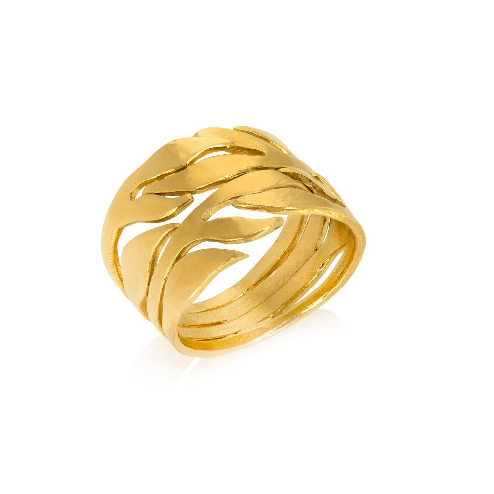 Chayya Tea Leaf Ring