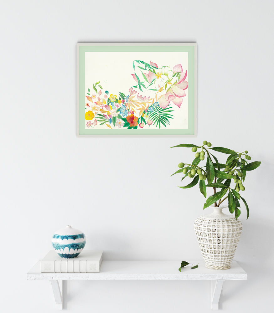 BALI - Stop  And Smell The Roses | Art Print